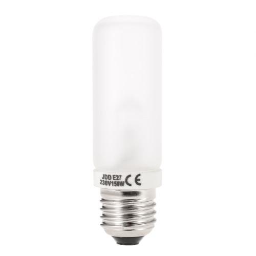 JDD E27 150W Studio fotografia de Strobe Flash modelagem tubo de luz da lâmpada bulbo 220V-240V