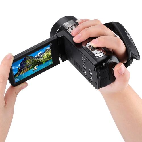 Andoer HDV-Z8 1080P Full HD Digital Video Camera Camcorder 16? Digital Zoom with Digital Rotation LCD Touch Screen Max. 24 Mega PiCameras &amp; Photo Accessories<br>Andoer HDV-Z8 1080P Full HD Digital Video Camera Camcorder 16? Digital Zoom with Digital Rotation LCD Touch Screen Max. 24 Mega Pi<br>