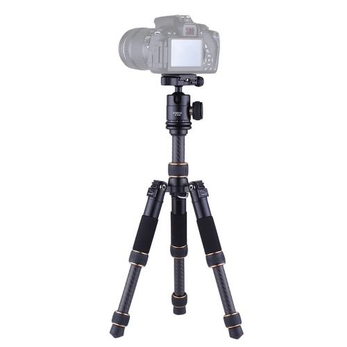 Andoer TP166C Portable Lightweight Carbon Fiber Table Mini Tripod with Ball Head Kit 3-Section Adjustable Height Fold Only 21cm foCameras &amp; Photo Accessories<br>Andoer TP166C Portable Lightweight Carbon Fiber Table Mini Tripod with Ball Head Kit 3-Section Adjustable Height Fold Only 21cm fo<br>