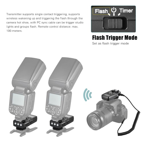 YouPro Pro-7 Wireless Shutter Timer Remote and Flash TriggerCameras &amp; Photo Accessories<br>YouPro Pro-7 Wireless Shutter Timer Remote and Flash Trigger<br>
