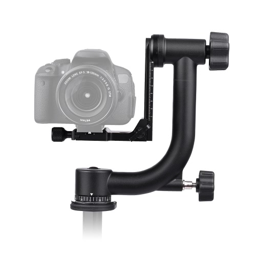 Andoer Heavy Duty Metal Panoramic Gimbal Tripod HeadCameras &amp; Photo Accessories<br>Andoer Heavy Duty Metal Panoramic Gimbal Tripod Head<br>