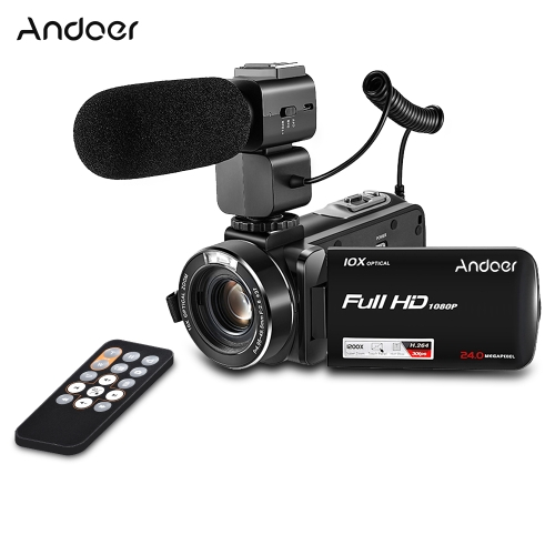 Andoer HDV-Z82 1080P Full HD Digital Video Camera CamcorderCameras &amp; Photo Accessories<br>Andoer HDV-Z82 1080P Full HD Digital Video Camera Camcorder<br>