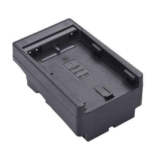 BP-U30 / U60 para NP-F Série Conversor de Bateria Placa Adaptadora Substitua F950 / F750 / F550 para Painel de Luz de Vídeo CONDUZIDO / Monitor / DSLR