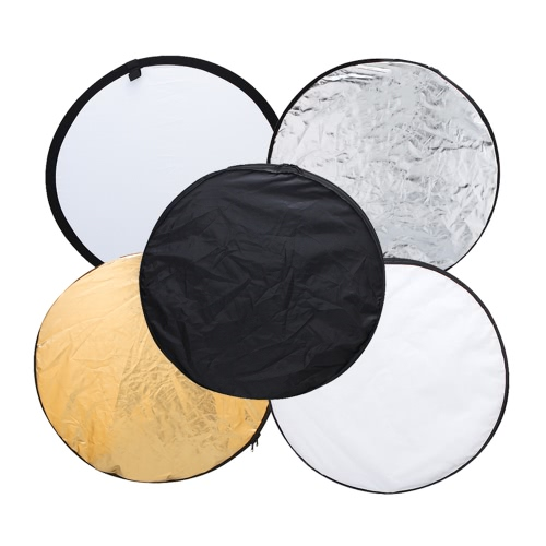 Andoer 43 110cm Disc 5 in 1 (Gold, Silver, White, Black, Translucent) Multi Portable Collapsible Photography Studio Photo Light RCameras &amp; Photo Accessories<br>Andoer 43 110cm Disc 5 in 1 (Gold, Silver, White, Black, Translucent) Multi Portable Collapsible Photography Studio Photo Light R<br>