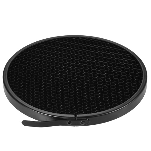 Photo Studio 16.8cm 50 Degree Honeycomb Grid for 7 Standard Reflector Diffuser Lamp Shade DishCameras &amp; Photo Accessories<br>Photo Studio 16.8cm 50 Degree Honeycomb Grid for 7 Standard Reflector Diffuser Lamp Shade Dish<br>