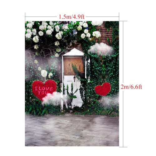 1.5 * 2m/4.9 * 6.5ft Photography Background Backdrop Computer Printed Love Pattern for Children Kid Baby Newborn Pet Photo StudioCameras &amp; Photo Accessories<br>1.5 * 2m/4.9 * 6.5ft Photography Background Backdrop Computer Printed Love Pattern for Children Kid Baby Newborn Pet Photo Studio<br>