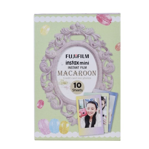 Fujifilm Instax Mini 10 Sheets MACAROON Gradual Color Film Photo Paper Instant Print for Fujifilm Instax Mini7s/8/25/50s/70/90 SP-Cameras &amp; Photo Accessories<br>Fujifilm Instax Mini 10 Sheets MACAROON Gradual Color Film Photo Paper Instant Print for Fujifilm Instax Mini7s/8/25/50s/70/90 SP-<br>