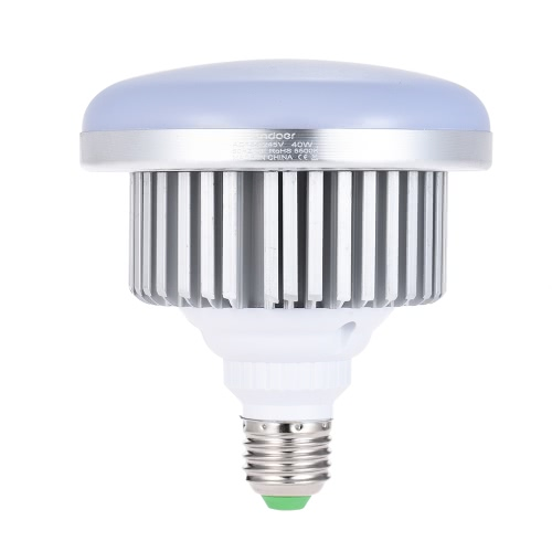 Andoer E27 40W Energy Saving LED Bulb 3200K Yellow Warm Light Lamp for Photo Studio Video Home Commercial LightingCameras &amp; Photo Accessories<br>Andoer E27 40W Energy Saving LED Bulb 3200K Yellow Warm Light Lamp for Photo Studio Video Home Commercial Lighting<br>