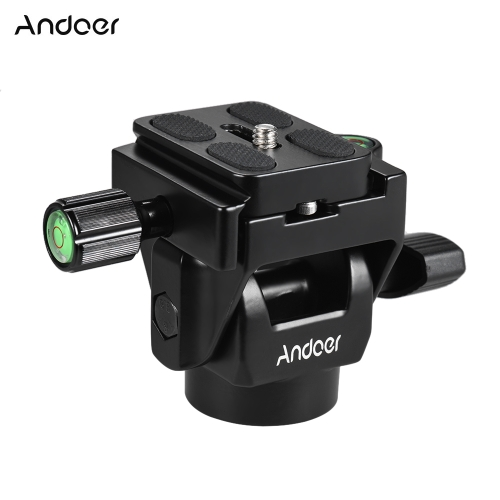 Andoer M-12 Monopod Tilt Head Panoramic Head Telephoto Bird Watching with 2pcs Quick Release PlateCameras &amp; Photo Accessories<br>Andoer M-12 Monopod Tilt Head Panoramic Head Telephoto Bird Watching with 2pcs Quick Release Plate<br>