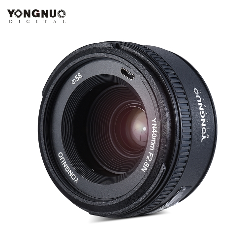 YONGNUO YN40mm F2.8N 1:2.8 Standard Fixed Prime Lens AF MF Auto Manual Focus Light-weight for Nikon D500 D7100 D7000 D7500 D610 D8Cameras &amp; Photo Accessories<br>YONGNUO YN40mm F2.8N 1:2.8 Standard Fixed Prime Lens AF MF Auto Manual Focus Light-weight for Nikon D500 D7100 D7000 D7500 D610 D8<br>