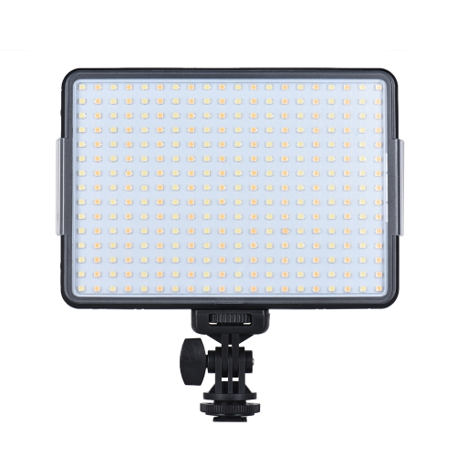 Andoer W300 Professional Dimmable LED luz de preenchimento de luz de vídeo