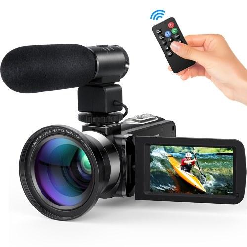Caméra vidéo numérique Andoer FHD 1080P Camecorder