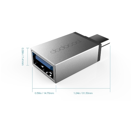dodocool USB Type-C to USB 3.0 Adapter Convert USB Type-C to USB 3.0 Connector for MacBook / ChromeBook Pixel / Nexus 5X / Nexus 6Computer &amp; Stationery<br>dodocool USB Type-C to USB 3.0 Adapter Convert USB Type-C to USB 3.0 Connector for MacBook / ChromeBook Pixel / Nexus 5X / Nexus 6<br>