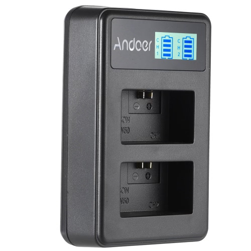 Andoer NP-FW50 Rechargeable LED Display Li-ion Battery Charger