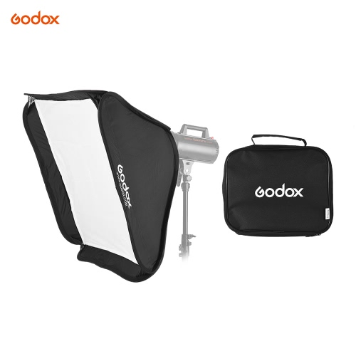 Godox Portable 80 * 80cm Rectangular Softbox Diffuser with Bowens Mount for Studio Flash StrobeCameras &amp; Photo Accessories<br>Godox Portable 80 * 80cm Rectangular Softbox Diffuser with Bowens Mount for Studio Flash Strobe<br>