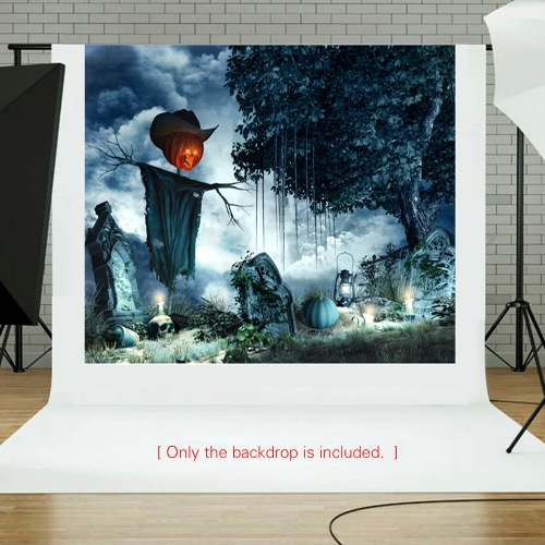 6.9 * 5ft/2.1 * 1.5m Halloween Backdrop Photography Background Decoration Pumpkin Pattern for DSLR Camera Photo StudioCameras &amp; Photo Accessories<br>6.9 * 5ft/2.1 * 1.5m Halloween Backdrop Photography Background Decoration Pumpkin Pattern for DSLR Camera Photo Studio<br>