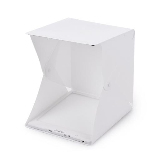 Andoerポータブル折りたたみミニLEDライトテント写真撮影ボックスソフトボックス
