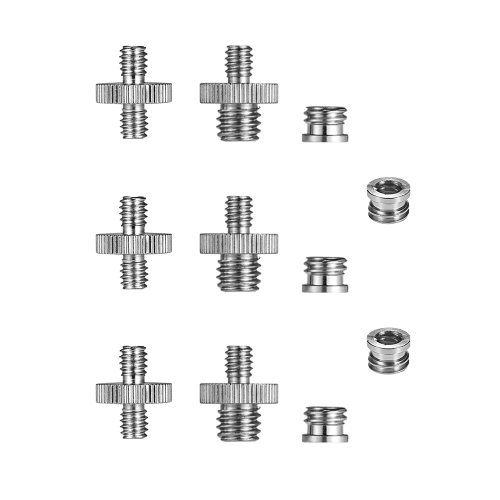 1/4-20 and 3/8-16 Threaded Screw Adapter Mount Set