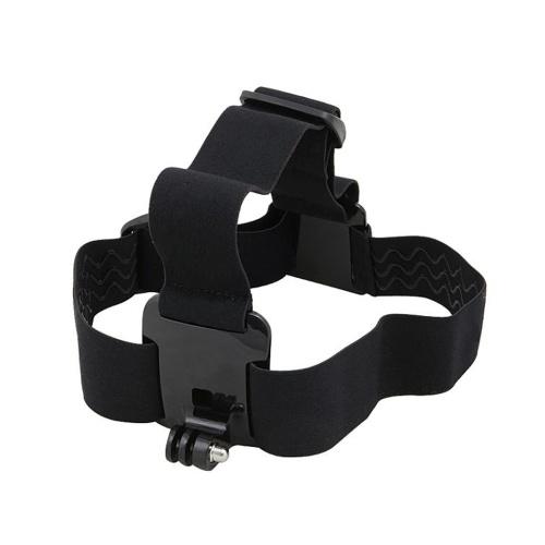 Ação ajustável para acessórios da câmera gopro headband headstrap professiona mount tripé capacete esporte