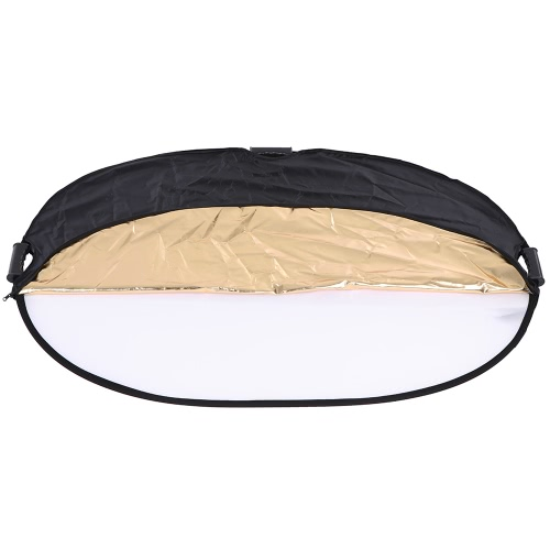 Andoer 90 * 120cm 5in1 Round Collapasible Multi-Disc Portable Circular Photo Photography Studio Video Light ReflectorCameras &amp; Photo Accessories<br>Andoer 90 * 120cm 5in1 Round Collapasible Multi-Disc Portable Circular Photo Photography Studio Video Light Reflector<br>