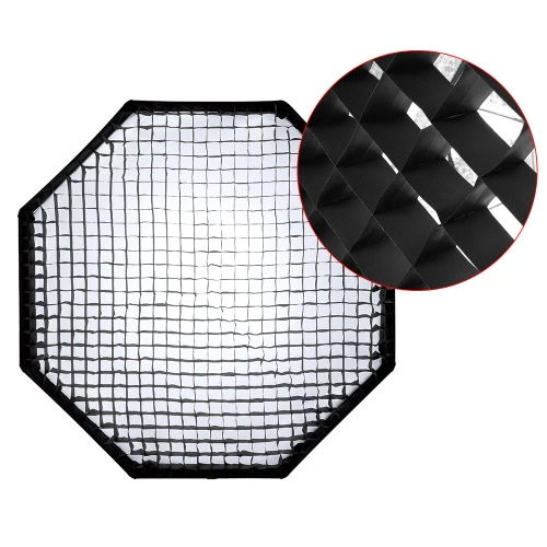 Professional Portable 90cm/36 Photography Octagon Softbox Bowens Mount Soft Box with Honeycomb Grid for Studio Strobe Flash LightCameras &amp; Photo Accessories<br>Professional Portable 90cm/36 Photography Octagon Softbox Bowens Mount Soft Box with Honeycomb Grid for Studio Strobe Flash Light<br>