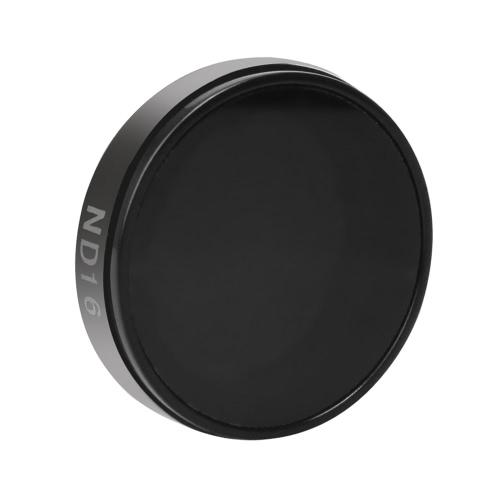 Andoer lentille Rond Filtres Kit Set (ND2 / ND4 / ND8 / ND16 / UV) protecteur en verre de protection pour GoPro Hero4 / 3 + / 3