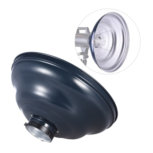 41cm / 16in Waved Beauty Dish Reflector with Honeycomb Soft Cloth Two Reflectors Photography Accessory for Strobe Studio Flash LigCameras &amp; Photo Accessories<br>41cm / 16in Waved Beauty Dish Reflector with Honeycomb Soft Cloth Two Reflectors Photography Accessory for Strobe Studio Flash Lig<br>