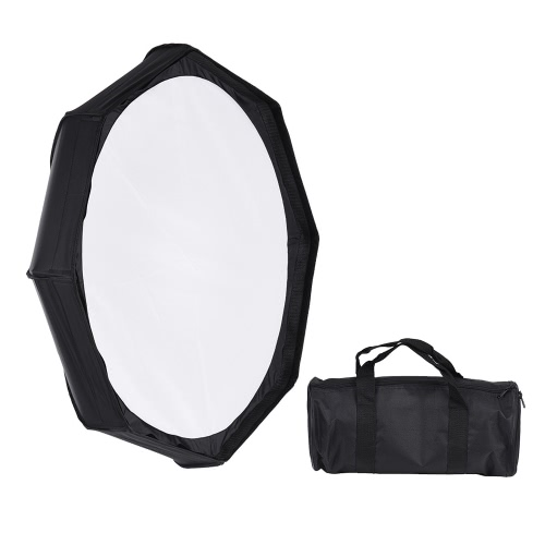 8 Pole 80cm/31.5 Rubber White/Black Foldable Collapsible Beauty Dish Octagon Softbox Flash Reflector Diffuser for Bowens Mount StCameras &amp; Photo Accessories<br>8 Pole 80cm/31.5 Rubber White/Black Foldable Collapsible Beauty Dish Octagon Softbox Flash Reflector Diffuser for Bowens Mount St<br>