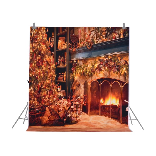 1.5 * 2m/4.9 * 6.5ft Photography Background Backdrop Computer Printed Christmas Pattern for Children Kid Baby Newborn Pet PhotoCameras &amp; Photo Accessories<br>1.5 * 2m/4.9 * 6.5ft Photography Background Backdrop Computer Printed Christmas Pattern for Children Kid Baby Newborn Pet Photo<br>