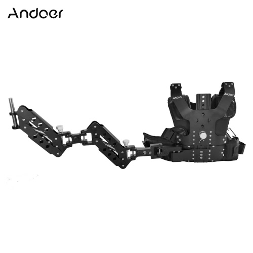 Andoer B200-C2 Pro Video Studio Photography Aluminum Alloy Load Vest Rig 16mm Dual Damping Arm Support Shoulder Stabilization forCameras &amp; Photo Accessories<br>Andoer B200-C2 Pro Video Studio Photography Aluminum Alloy Load Vest Rig 16mm Dual Damping Arm Support Shoulder Stabilization for<br>
