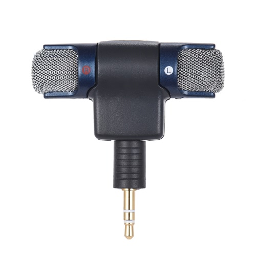 External Stereo Mic Microphone with 3.5mm to Mini USB Micro Adapter Cable for GoPro Hero 3 3+ 4 for AEE Sports Action CameraCameras &amp; Photo Accessories<br>External Stereo Mic Microphone with 3.5mm to Mini USB Micro Adapter Cable for GoPro Hero 3 3+ 4 for AEE Sports Action Camera<br>