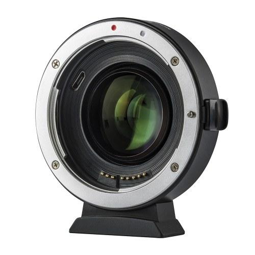 Adaptador de montaje de lentes de enfoque automático Viltrox EF-EOS M2