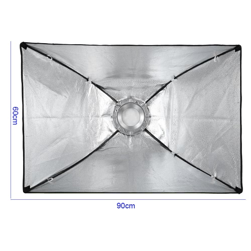 60 * 90cm / 24 * 35inch Rectangular Softbox Diffuser with Bowens Mount for Studio Flash SpeedliteCameras &amp; Photo Accessories<br>60 * 90cm / 24 * 35inch Rectangular Softbox Diffuser with Bowens Mount for Studio Flash Speedlite<br>