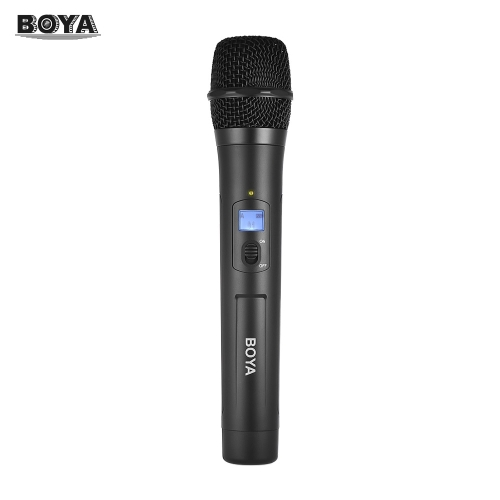 BOYA BY-WHM8 UHF Wireless Handheld Microphone Dynamic Mic with 48UHF Channels Work with BY-WM8 /BY-WM6 Receiver for Karaoke IntervCameras &amp; Photo Accessories<br>BOYA BY-WHM8 UHF Wireless Handheld Microphone Dynamic Mic with 48UHF Channels Work with BY-WM8 /BY-WM6 Receiver for Karaoke Interv<br>