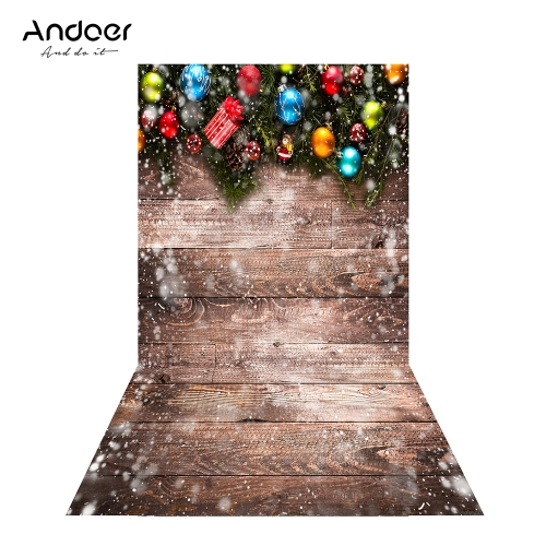 Andoer 1.5 * 0.9m/4.9 * 3.0ft Christmas Backdrop Photography BackgroundCameras &amp; Photo Accessories<br>Andoer 1.5 * 0.9m/4.9 * 3.0ft Christmas Backdrop Photography Background<br>