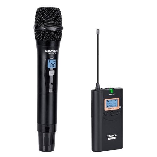 COMICA CVM-WM100H 48-Channel UHF Wireless Handheld Microphone System