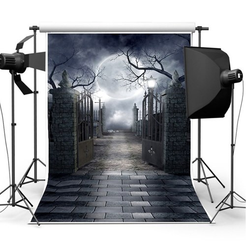 1 * 1.5mハロウィンの写真の背景フェスティバルの写真の背景の布のビニールの写真の写真スタジオの小道具
