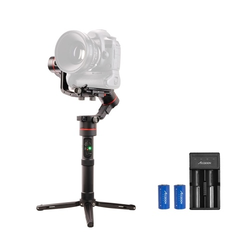 ACCSOON  A1-S professional 3-Axis Handheld Gimbal Stabilizer with Tripod