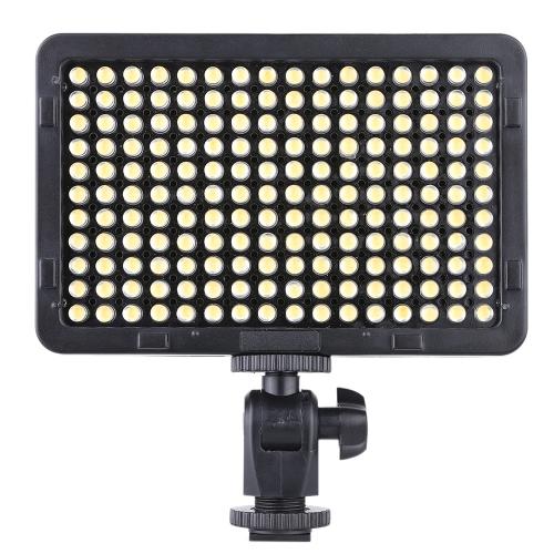 Портативный видео студия фотографии свет лампы панели 176 светодиоды 5600K для камеры DSLR видеокамеры Кэннон Nikon Pentax Olympus
