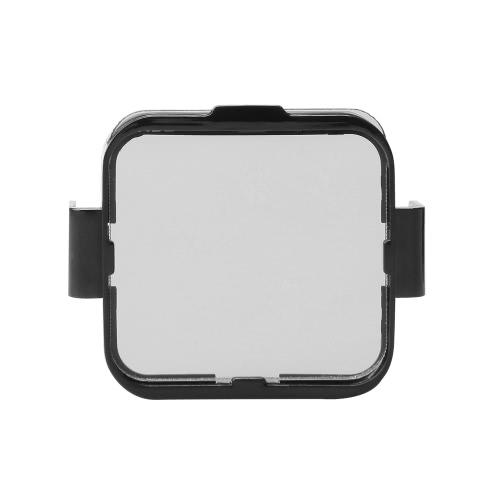 Andoer Place Objectif Filtre Protecteur Kit Set (ND2 / ND4 / ND8 / ND16) pour GoPro Hero4 session w / filtre Montage Holder Frame