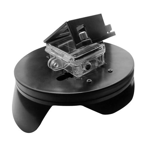 シュート6「ダイビングドームポートフィッシュアイ水中写真透明な広角レンズカバーシェルハウジングのGoPro Hero4 / 3 + / 3 /フワッグリップワット