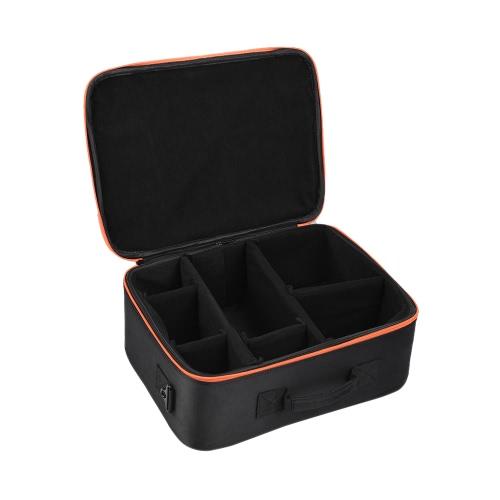 Godox Flash Studio Strobe acolchoado Hard Carrying saco de armazenamento caixa preta para Godox AD600 / AD360 Série Flash e Outros Marca Outdoor flash Acessório