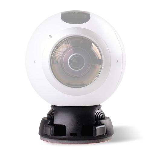 Quick Release держатель Включая пряжкой + плоских и криволинейных Основание клейкой лентой для Samsung Gear 360 Камера для Ricoh Theta S / SC / М15 & Sports Action панорамная камера ж / 1/4