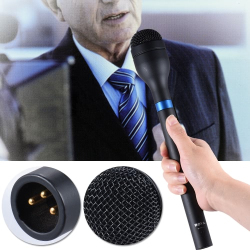 BOYA BY-HM100 Handheld Dynamic MicrophoneCameras &amp; Photo Accessories<br>BOYA BY-HM100 Handheld Dynamic Microphone<br>