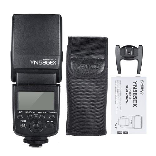 YONGNUO YN585EX P-TTL Wireless Speedlite Flash Light GN58 HSS 1/12000s SP S1 S2 Slave AF-assist Rear Curtain SYNC LCD Screen for PCameras &amp; Photo Accessories<br>YONGNUO YN585EX P-TTL Wireless Speedlite Flash Light GN58 HSS 1/12000s SP S1 S2 Slave AF-assist Rear Curtain SYNC LCD Screen for P<br>
