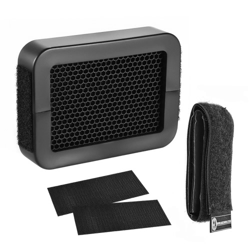 Micnova MQ-FW01 1/8 Inch Universal Honeycomb Grid Honeycomb Speed Grid for External Camera FlashesCameras &amp; Photo Accessories<br>Micnova MQ-FW01 1/8 Inch Universal Honeycomb Grid Honeycomb Speed Grid for External Camera Flashes<br>