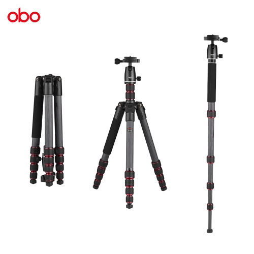 OBO TS360C Foldable Portable Carbon Fiber Camera TripodCameras &amp; Photo Accessories<br>OBO TS360C Foldable Portable Carbon Fiber Camera Tripod<br>