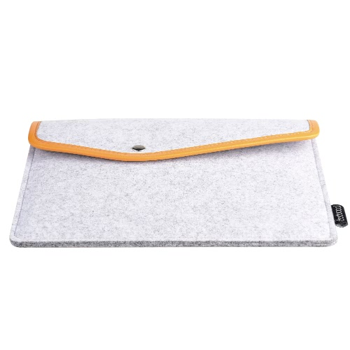 dodocool Funda de fieltro portátil 9,7 pulgadas para Apple 9.7-inch iPad Pro / iPad Air 2 / 1, color gris
