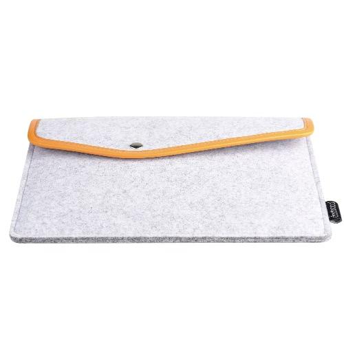 dodocool 9.7 インチ タブレット フェルト封筒カバー袖キャリング ケース保護バッグ アップルの 9.7 インチ ipad とプロの/計算された空気 2/1