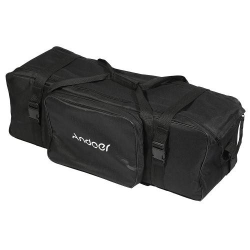 Andoer Photography Studio Light Kit Bolsa de transporte acolchoada